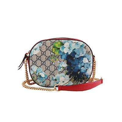 GG supreme blooms mini chain bag